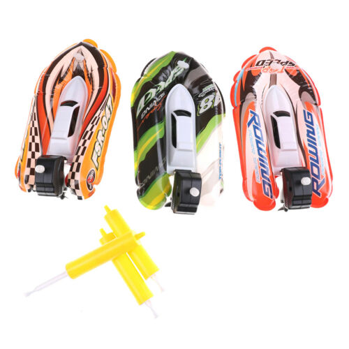Inflatable Racing Boat Gift For Bath Bathroom Toys For Kids Remontoir Boat YH