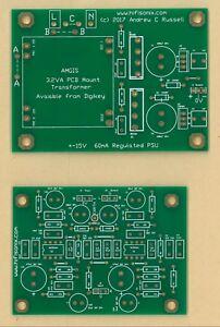 hifisonix-accurate-RIAA-EQ-amplifier-board-PSU-PCB-1-set