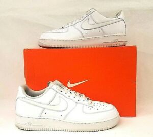 Nike Air Force 1 One Low Top All Triple White 315122-111 AF1 Size 13 ... ba9f8904e