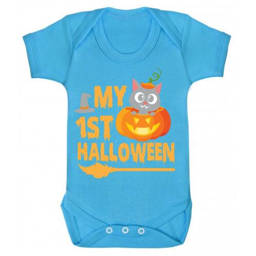 0-24 Monate My First Halloween baby romper suit body strampler