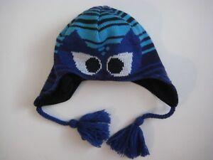 COLUMBIA boys girls Cat Face Winter Beanie hat cap Snow Ski Acrylic ... 8b08b1a5253