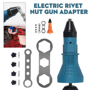 Electric-Rivet-Nut-Gun-Adapter-Cordless-Riveting-Drill-Insert-Wrench-Tool-Kit