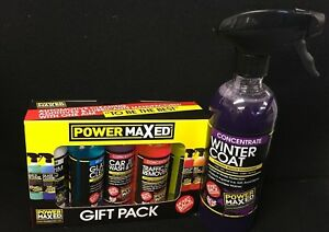 Power-Maxed-Winter-Coat-Sealant-amp-giftpack-TFR-JETWASH-TYRETRIM-ALLOYWHEEL-GLASs