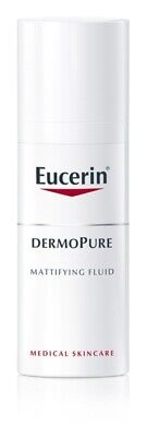Acne & Blemish Treatments Eucerin Dermopure Matte Emulsion Fluid Problematic Skin Educes Excessive Sebum High Quality And Low Overhead Skin Care