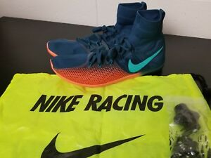 outlet store bc054 3a89c Image is loading Nike-Zoom-Victory-4-XC-Track-Spike-Racing-