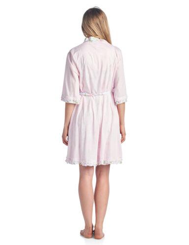 Casual Nights Women/'s Sleepwear 2 Piece Nightgown and Robe Set