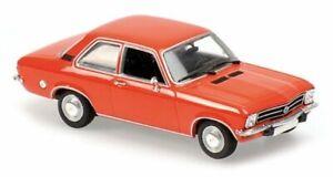 OPEL Ascona - 1970 - red - Maxichamps 1:43