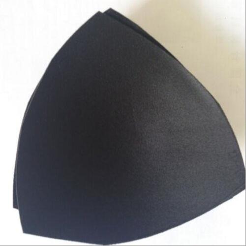 1 Pair Solid Color Removable Soft Sponge  Foam Bra Cup Pads Push-up Pads