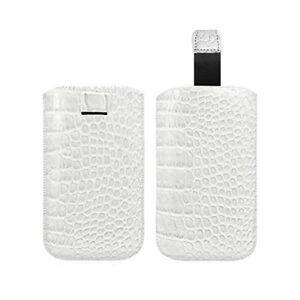 Housse-Coque-Etui-Pochette-Style-Croco-Couleur-Blanc-pour-Samsung-Galaxy-S4-Ga