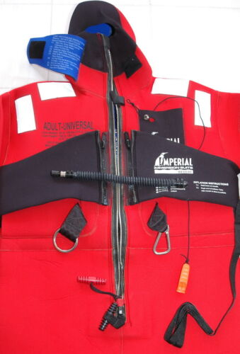 Imperial 1409-A USCG Adult Universal Immersion suit *Excellent-Unused* 11
