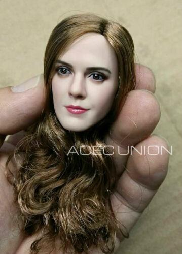 "1//6 Emma Watson Female Head Sculpt 4.0 For 12/"" PHICEN Hot Toys Figure U.S.A."