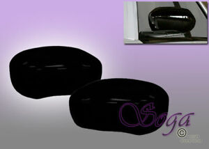 FOR CHRYSLER 300//C DODGE CHARGER MAGNUM GLOSS BLACK OVERLAY SIDE MIRROR COVERS