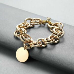 Round-Pendant-Link-Chain-Adjustable-Bracelets-For-Women-Geometric-Bangle-Gifts