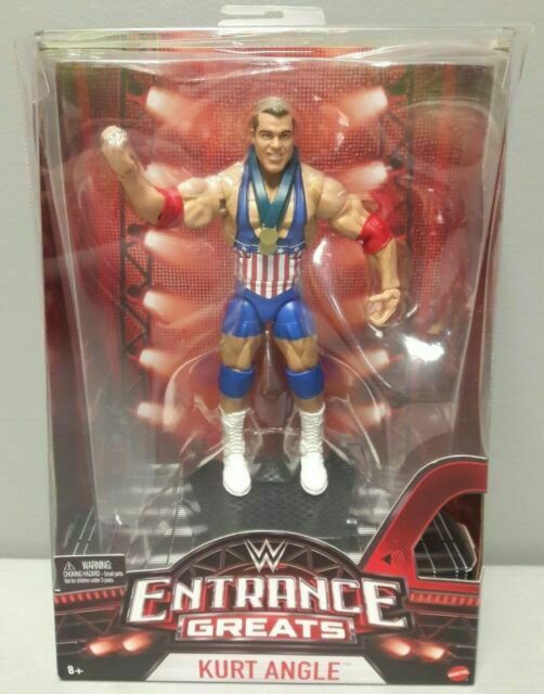 WWE WRESTLING FIGURE MATTEL ELITE Entrance Greats Kurt Angle Boxed Brand New
