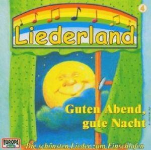 LIEDERLAND-4-GUTEN-ABEND-GUTE-NACHT-CD-18-TRACKS-KINDER-LIEDER-NEU