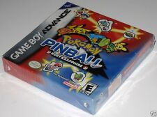 Pokemon Pinball: Ruby & Sapphire (Game Boy Advance) ...NEW~SealED!!