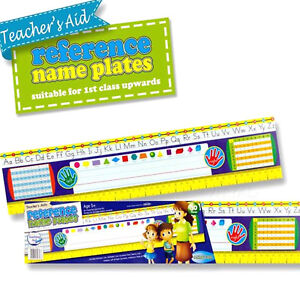 Alphabets Name Plates Abc Numbers Teacher Supplies Classroom School