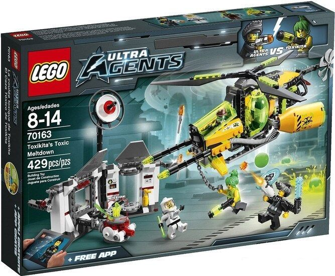 LEGO 70163 - Ultra Agents Toxikita's Toxic Meltdown  GREAT GIFT