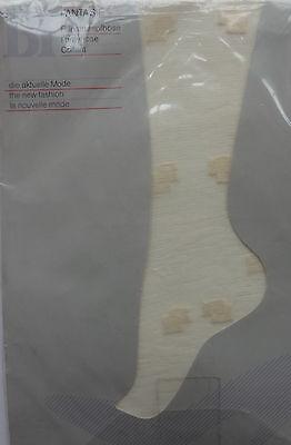 Vintage Strumpfhose Bi Fantasie Solaris Damen Feinstrumpfhose mit Muster 38-40