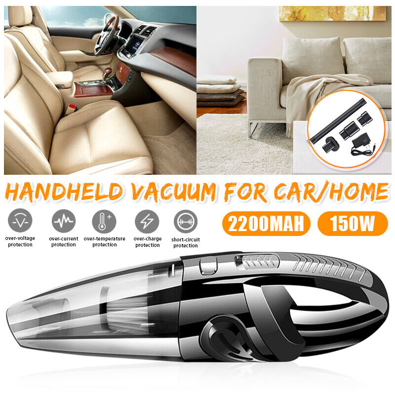 Cordless Held Cleaner Mini Car Auto