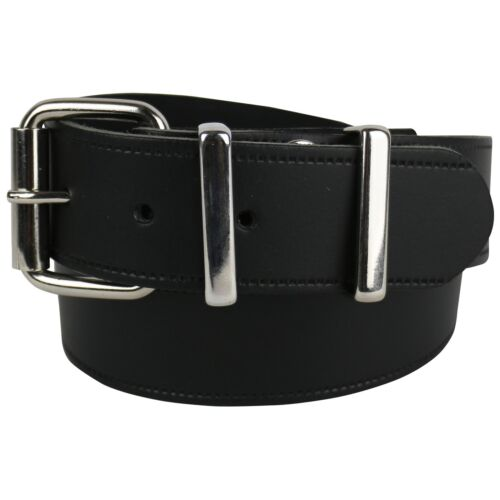 MENS 40MM LEATHER HIGH QUALITY STYLISH JEAN TROUSER BELT UK MADE CASUAL B908C