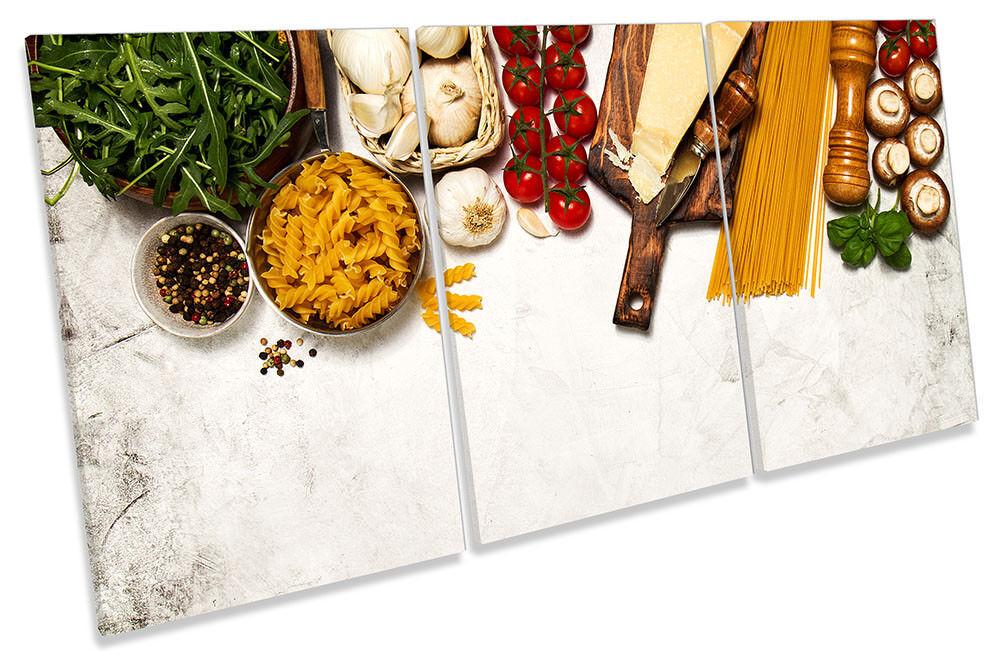 Lienzo Enmarcado Cocina ing rojo rojo rojo ientes frescos impresión de arte de la pa rojo  de agudos 91761a