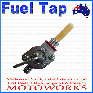 Fuel Tank Tap Switch 48cc 66cc 70cc 80cc 2 Stroke Motorised Motorized Bicycle