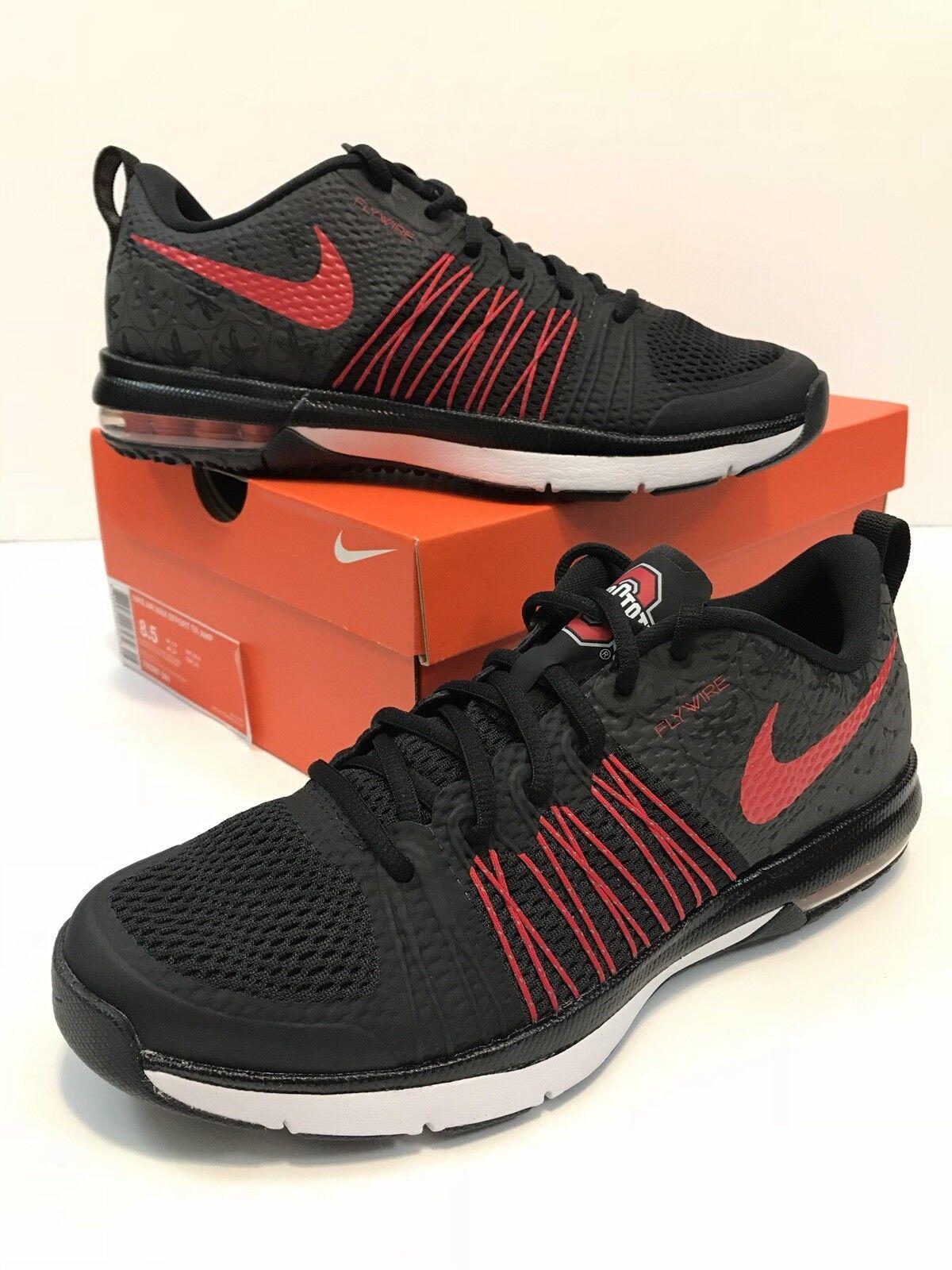 OSU Ohio State Buckeyes DARK NIGHT Nike Air 8.5 Max Mens Sz 8.5 Air NIB MINT 705367-061 453500