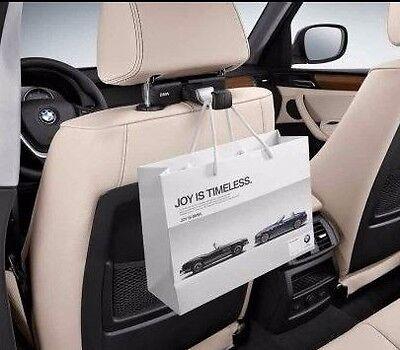 GENUINE BMW TRAVEL /& COMFORT Headrest Base Attachment Carrier Universal Hook