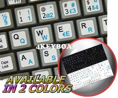 FARSI ENGLISH NETBOOK KEYBOARD STICKER BLACK