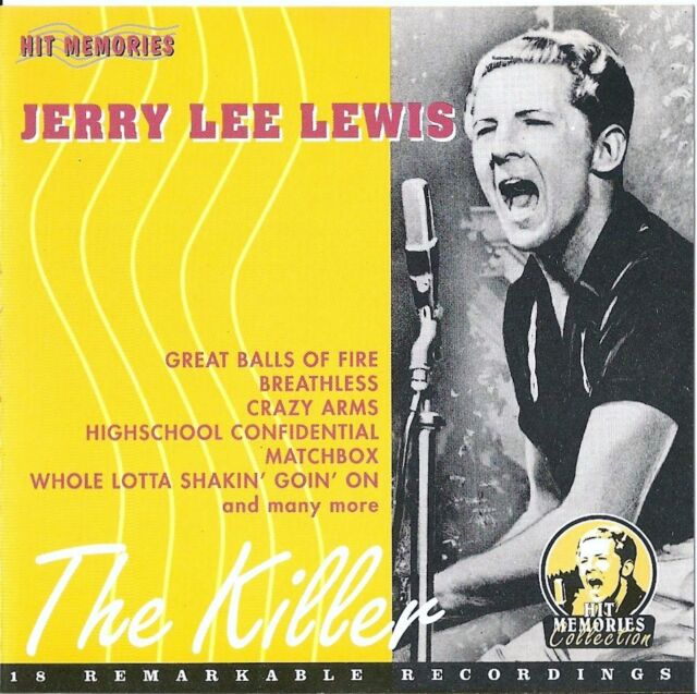 JERRY LEE LEWIS : THE KILLER - 18 REMARKABLE RECORDINGS / CD - TOP-ZUSTAND