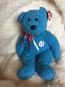 TY Beanie Baby Beanies Babies ADDISON Cricket Bear Buddy Buddies Rare Tags Big