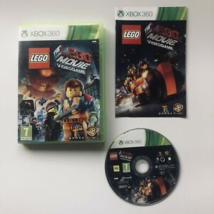 The LEGO Movie Videogame (Microsoft Xbox 360) Video Game Complete with Manual