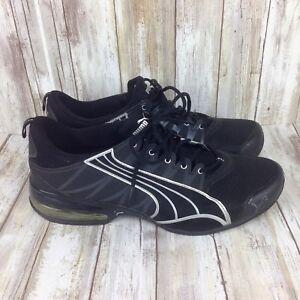 Puma H Street 180779-02 Black Blue Super Running Shoes Men