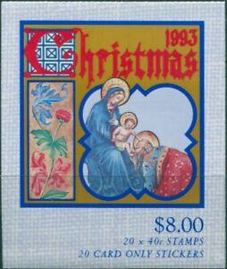 Australia-booklet-1993-SG1432-40c-Christmas-MNH