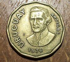 PIECE DE 1 NUEVO PESO URUGUAY 1976 (48)