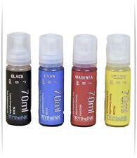 Dye Sublimation Ink 4 70ml Bottles For Epson Et 2803 Et 2800 Et 2850 Non Oem