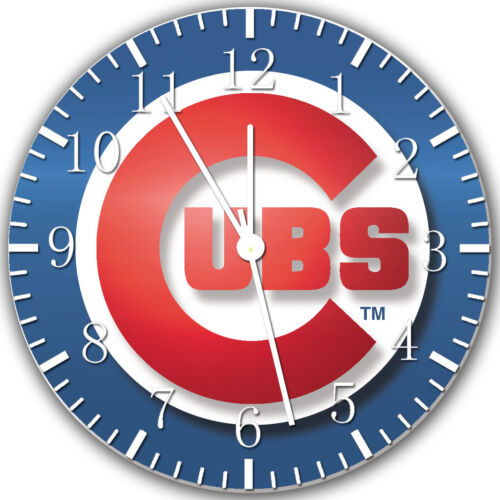 Chicago Cubs Frameless Borderless Wall Clock Nice For Gifts or Decor X04