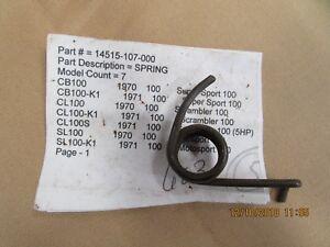 Honda OEM CB Sl XL 100 125 Cam Chain Tensioner 14563-107-000 QTY 2