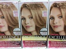 10 X L Oreal Excellence Crème Hair Color 8bb Medium Beige Blonde