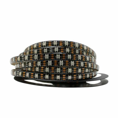 WS2812B Strip LED Lights 5050 RGB 30//60//144 LED//M IC Individual Addressable DC5V