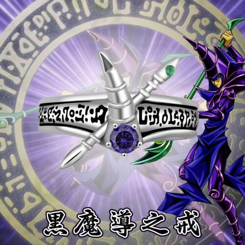 Yugi Muto Ring 925 Silver cosplay Cadeau Taille 7//8//9 Bijoux Cadeau Anime Yu-Gi-Oh