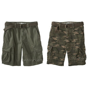 NEW MOSSIMO SUPPLY CO CAMOUFLAGE SHORTS SIZE 46