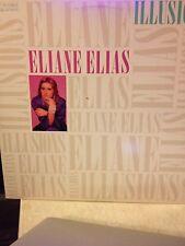 ELAINE ELIAS - Illusions ~ BLUE NOTE 46994 {nm orig} *1986*  wToots, Gomez >RARE