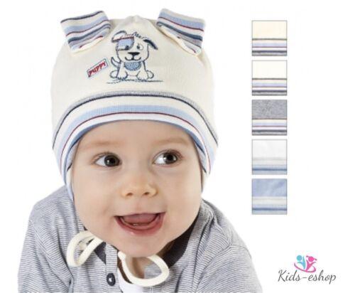 Baby Boys HAT Puppy Spring Autumn Cotton Newborn-18 Months