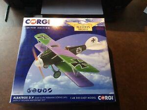 Archives de l'aviation Corgi.   Première guerre mondiale 1 Limited Edition allemand Editiod.herman Goring.
