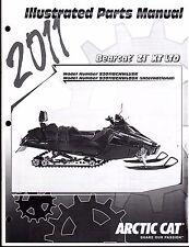 2011 ARCTIC CAT SNOWMOBILE BEARCAT Z1 XT LTD PARTS MANUAL P/N 2258-955  (738)
