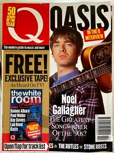 Q-Magazine-Feb-1996-Noel-Gallagher-Oasis-in-stock-from-UK