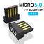 miniatura 3 - ADATTATORE BLUETOOTH 5.0 USB RICEVITORE Trasmettitore Wireless PC chiavetta USB