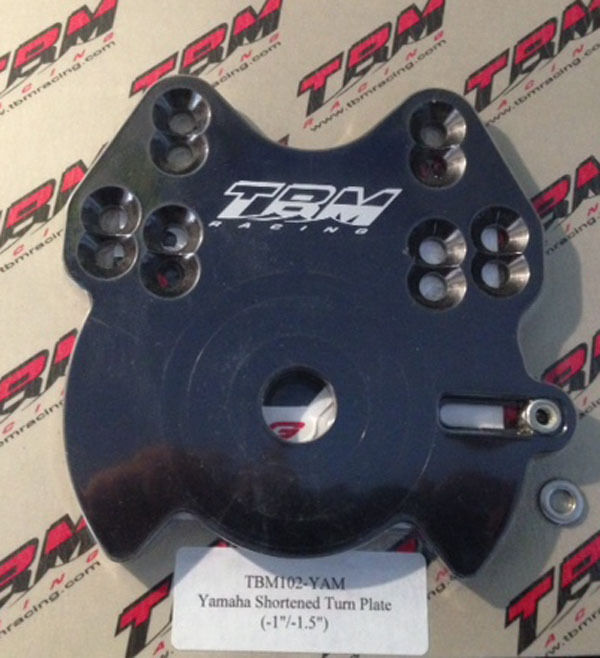 Platinum steering Yamaha Shortened Turn Flat TBM ({TBM102}-YAM)- 1'' 1,5'')